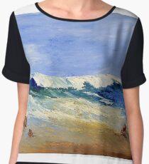 Seascape Women's Chiffon Top