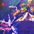 """""""Koi Pond"""" by kcd-designs"""