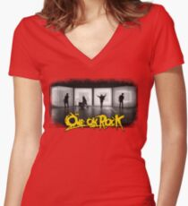 One Ok Rock! We Are!! Women's Fitted V-Neck T-Shirt