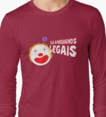 Silvia - Olá Amiguinhos Legais Long Sleeve T-Shirt