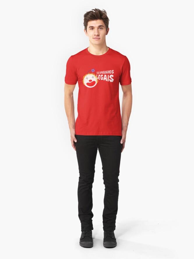 Alternate view of Silvia - Olá Amiguinhos Legais Slim Fit T-Shirt