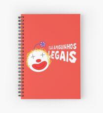 Silvia - Olá Amiguinhos Legais Spiral Notebook
