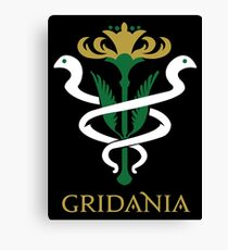 Gridania Coat of Arms Canvas Print