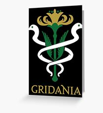 Gridania Coat of Arms Greeting Card