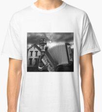 Accordian Blues Man Classic T-Shirt