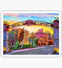 Old Town Front street Temecula CA Sticker