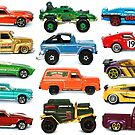 Toy Car Collage by JCMPhotos