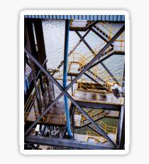 Metail Stairs Sticker