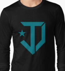 Justice Democrats Logo Long Sleeve T-Shirt