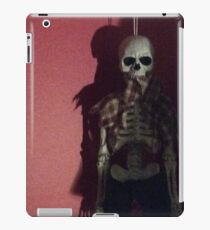 Scary skeleton iPad Case/Skin
