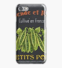French Vegetables 2 iPhone Case/Skin