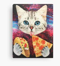 Galaxy Cat Canvas Print