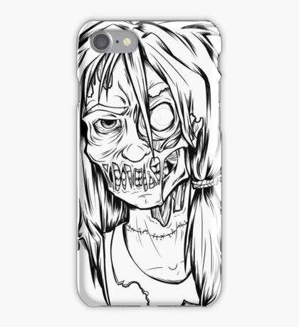 Zombie School Girl - OOTD style iPhone Case/Skin