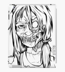 Zombie School Girl - OOTD style iPad Case/Skin