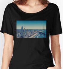 2 Dolphins 1 City Women's Relaxed Fit T-Shirt