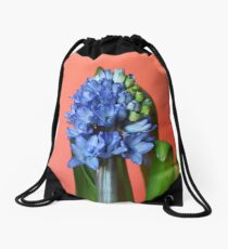 Hyacinthus Drawstring Bag