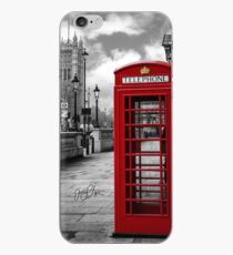 Iconic London: Red Phone Booth iPhone Case