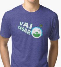 Silvia da Silvia - Vai Cagar Tri-blend T-Shirt