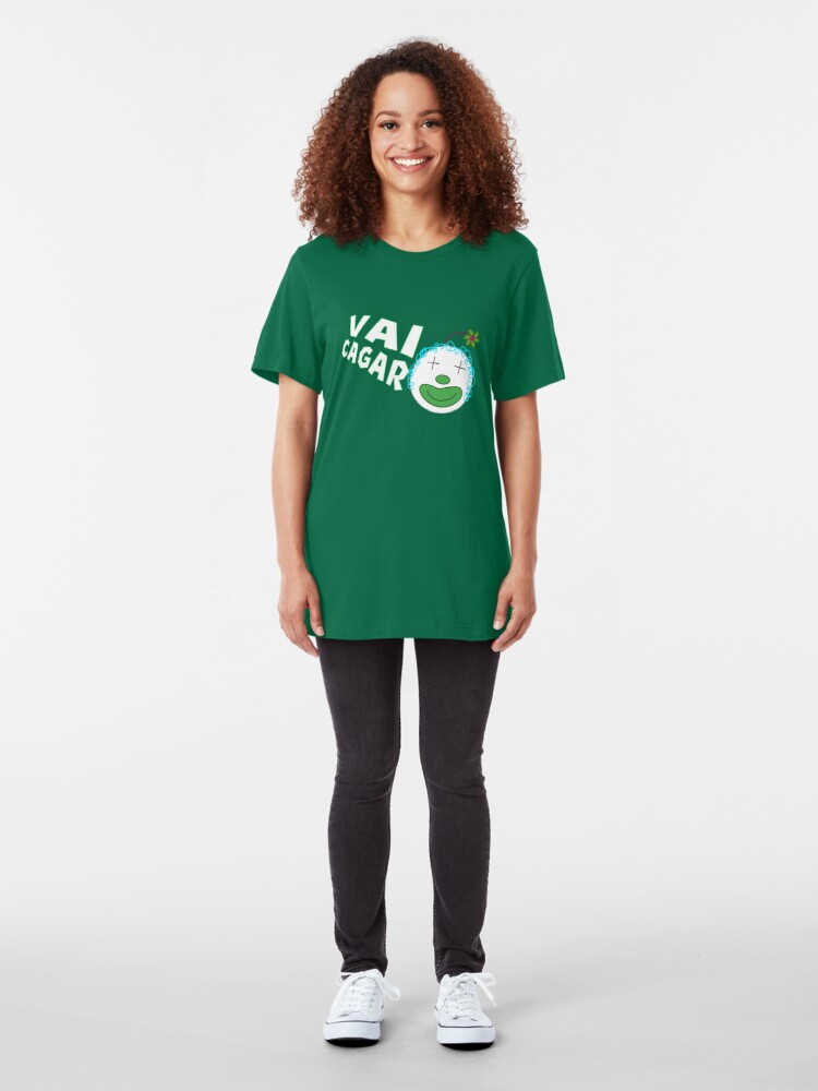 Alternate view of Silvia da Silvia - Vai Cagar Slim Fit T-Shirt