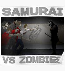 Samurai vs Zombies Poster