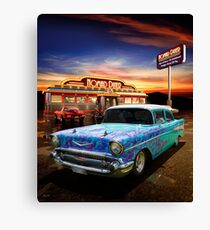 Burger Time Canvas Print