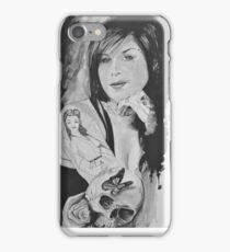 Kat Von in Watercolour iPhone Case/Skin