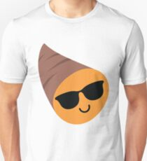 Sweet Potato Emoji Cool Sunglasses Unisex T-Shirt
