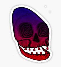 Ancient Skull Sticker
