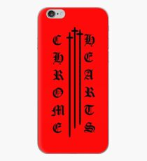 Chrome Hearts 3 cross Red iPhone Case