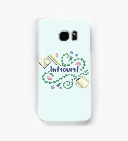 Introvert Samsung Galaxy Case/Skin