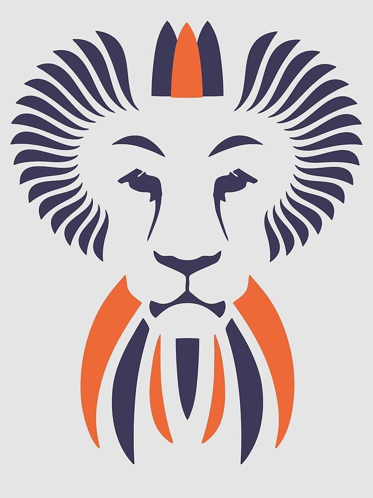 Lion Haze - Two Color King by Ozgur Kusakoglu