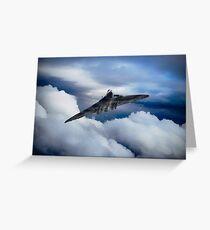 Vulcan Aviation Greeting Card