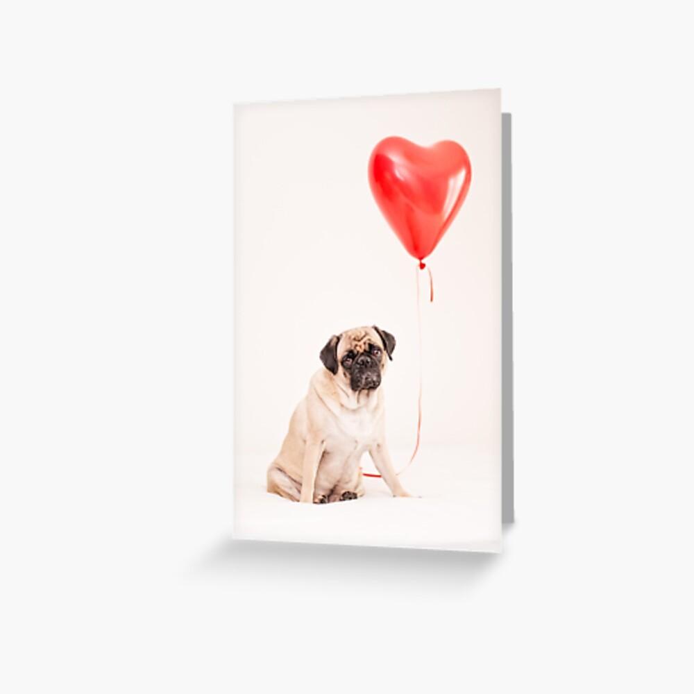 Lola in Love Grußkarte