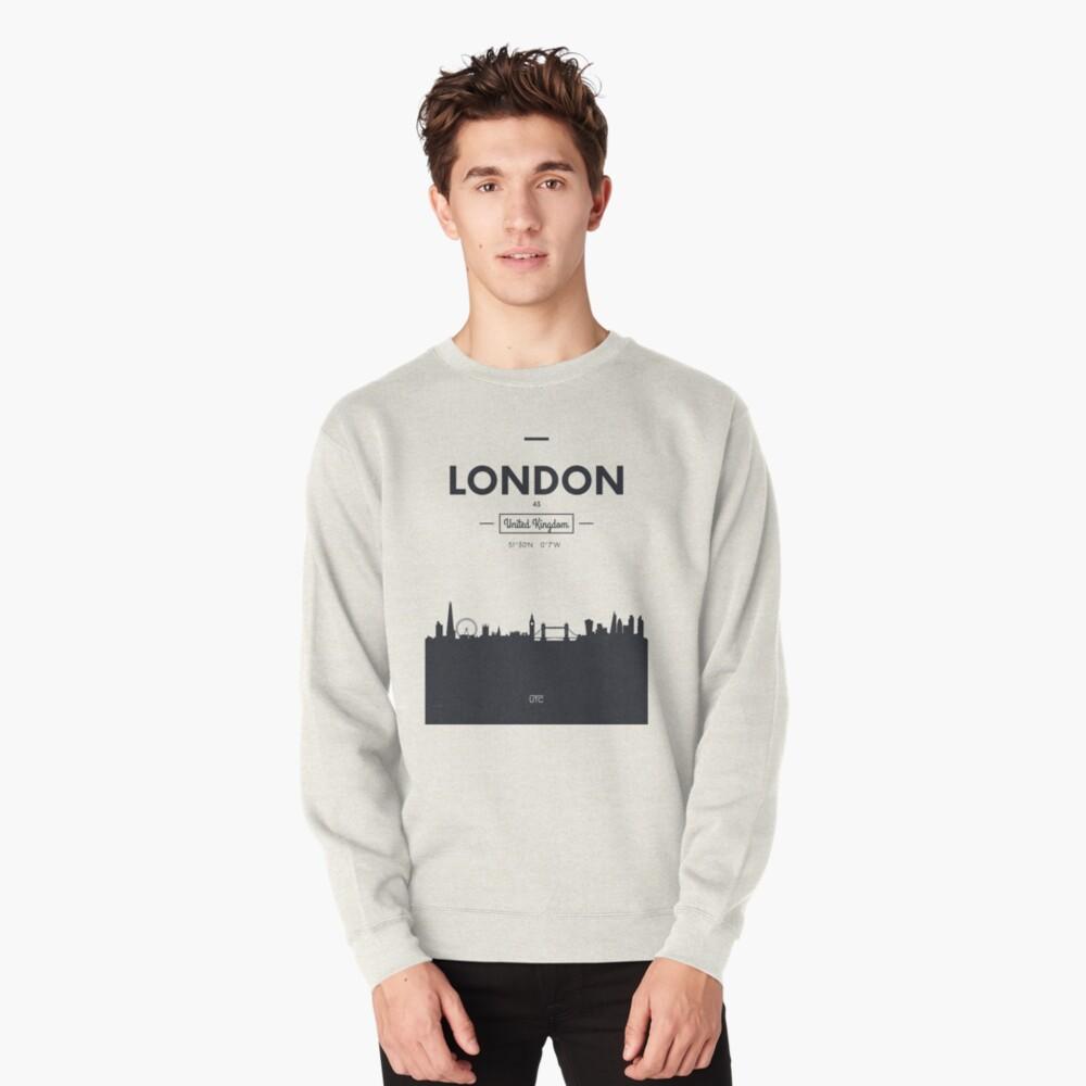 Skyline der Stadt London Pullover