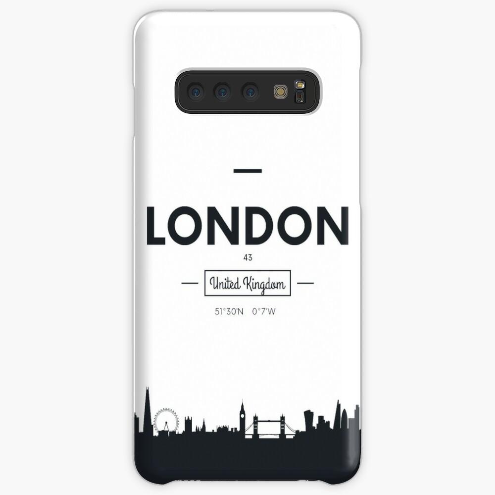 Skyline der Stadt London Hüllen & Klebefolien für Samsung Galaxy