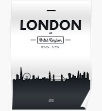 city skyline London Poster