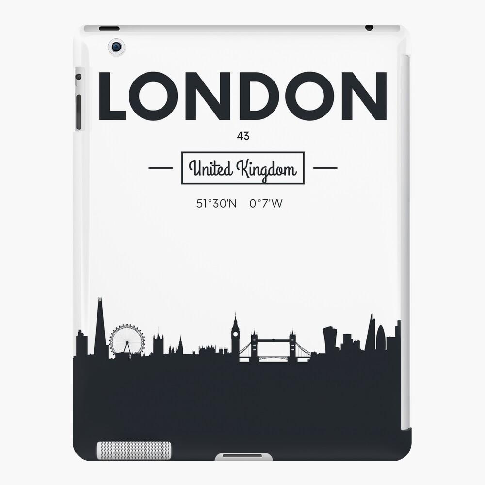 Skyline der Stadt London iPad-Hülle & Skin