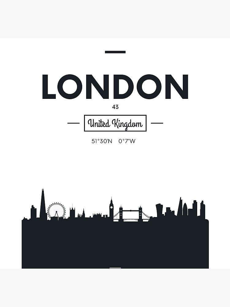 Skyline der Stadt London von maximgertsen