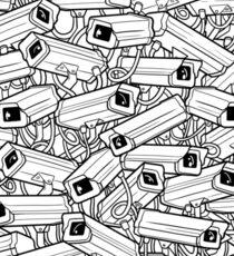Surveillance Frenzy Sticker