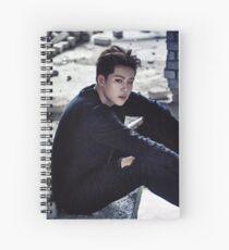 Stuck Jooheon MonstaX Spiral Notebook