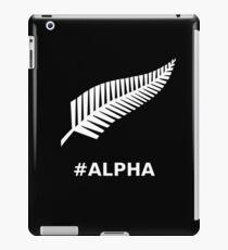 All Blacks Alpha Fern iPad Case/Skin