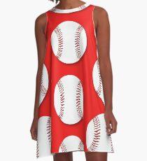 Baseball A-Linien Kleid
