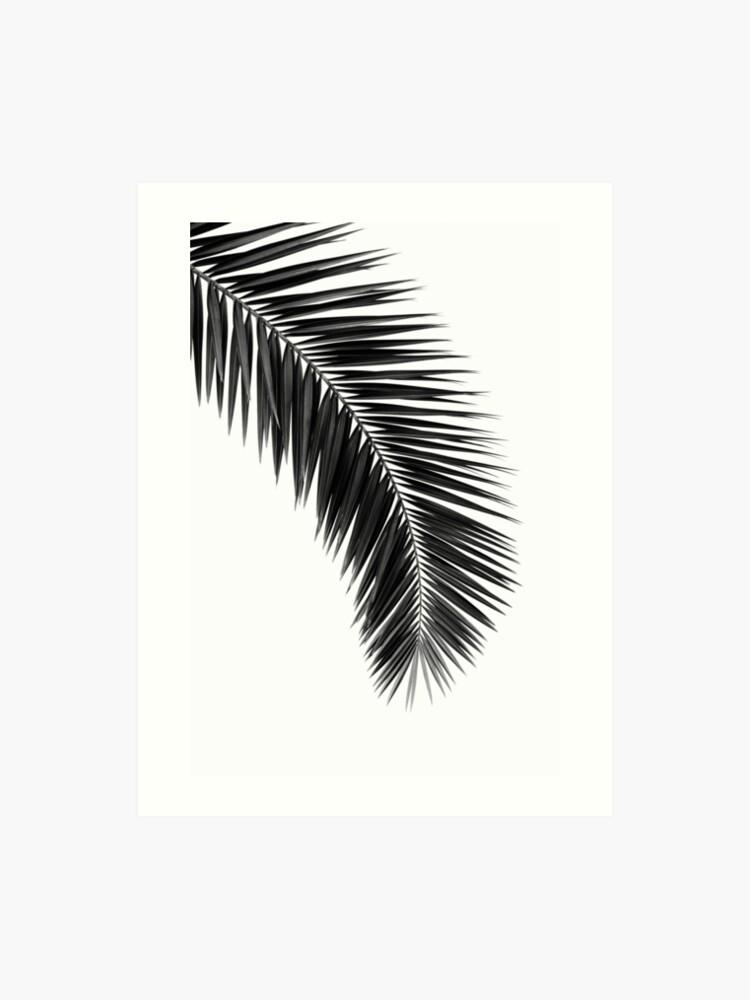 image about Palm Leaf Printable known as Printable leaf palm, printable palm leaf, palm leaf printable, palm leaf poster, palm leaf wall artwork, palm tree wall print Artwork Print
