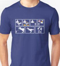 """""""God Creates Dinosaurs..."""" T-Shirt"""