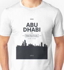 city skyline Abu Dhabi T-Shirt