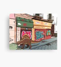Arizonasaurus en Calle Feria Canvas Print
