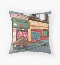 Arizonasaurus en Calle Feria Throw Pillow