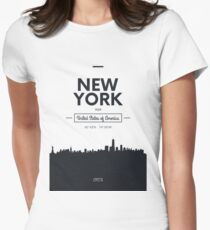 city skyline New York T-Shirt