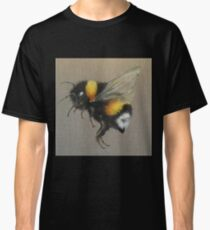 Bumble Bee Oil Painting by Angela Brown Art Classic T-Shirt