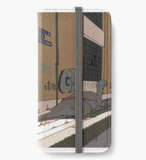 Plateosaurus in Bami iPhone Wallet/Case/Skin